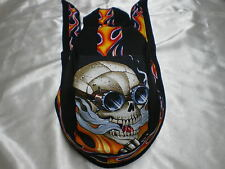 Harley Toms Asphalt Warrior Doo Rag Chef Hat Do Rag Skullcap Bandana Headwrap