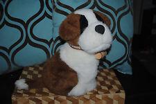 "Saint St. Bernard Serra Da Estrela Portugal Portuguese Plush Rescue Dog 11"""