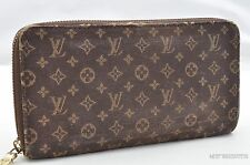 Authentic Louis Vuitton Monogram Mini Lin Zippy Wallet M95235 LV 24515