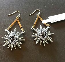 $225 LULU FROST from Neiman Marcus Star Burst Drop Earrings NWT