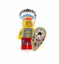 #e6280 Lego Minifigur Western Indian Chief * 6746 * 6763 * 6766 * Häuptling