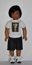 DOLL CLOTHES CUSTOM MADE FOR AMERICAN GIRL DOLL - BOY STAR WARS SHORT SET