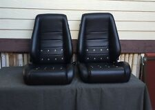 Recaro Seats Custom Modified- 1965 Porsche style with grommets Sportsitz classic