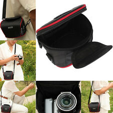 Universal Compact Camera Case Bag With Strap For Canon Nikon Panasonic Samsung