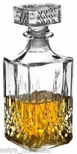 Brand New Quality Glass Decanter Bottle for Whiskey Wine Brandy Liqueur 900ml
