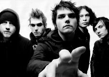 My Chemical Romance America famous punk band Art Silk Fabric poster 32x24""