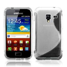 CUSTODIA COVER IN SILICONE TPU GEL S-LINE TRASPARENTE SAMSUNG GALAXY ACE2 I8160