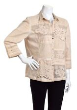 BOTTEGA by ELISA CAVALETTI COTTON & ELASTANE SHIRT Size XXL