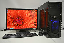 "Pc de jeux set 22"" quad i5-2400 3.1 ghz 8 go DDR3 1TB 2GB gddr 5 gtx 750 ti WIN7"