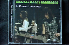 Manfred Mann's Earthband In Concert 1971 - 1973 CD New + Sealed