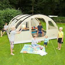 skandika Gotland 6 Person Man Tunnel Group Family Tent Sewn-in Floor Netting New