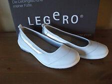 Ladies LEGERO 876 White LEATHER Slip On COMFORT Shoe Size UK 4.5 EUR 37/8 New