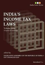 India's Income Tax Laws : Volume Three (Chapters XX to Appendix) by L. A. RI...