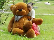 78'' Giant Hung Big Brown TEDDY BEAR Plush Stuffed soft toys doll gift +EMS SHIP