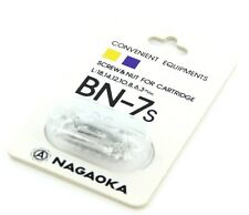 Nagaoka BN-7S Cartridge Mounting Screws - Aluminum