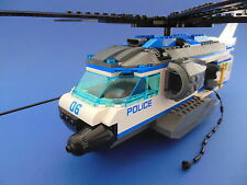 ★ LEGO CITY - 60046 - ACCESSOIRES - L' HELICOPTERE DE POLICE + NOTICE - NEUF !!