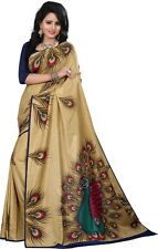 Latest Indian Wedding Sari Designer Art Silk Party wear Saree with Blouse aa2