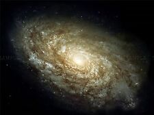 HUBBLE SPACE TELESCOPE DUSTY SPIRAL GALAXY POSTER PRINT ART 373PYA