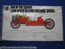1960s Regent Petrol - Free Gift  - Land Speed Record Print - Ford 999 Arrow 1903