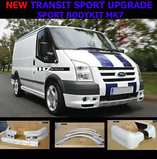 SPORT BODYKIT UPGRADE KIT | FORD TRANSIT MK7 SWB 2006-2013 | PRIMED