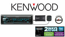 Kenwood KDC-X701 CD Receiver with built in Bluetooth HD Radio SiriusXM SXV300v1