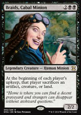 MTG BRAIDS, CABAL MINION - BRAIDS, SERVITORE DELLA CABALA - EMA - MAGIC