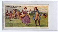 (Ja7493-100) Lambert & Butler,Pirates & Highwaymen,claude Duval,1926#9