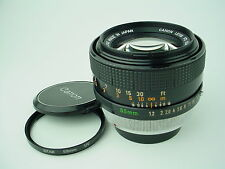 Canon FD 55mm F/1.2 Breech Lock S.S.C. SSC Lens w/Caps