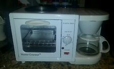 NEW 3 in 1 Breakfast Station Coffee Maker Toaster Oven RV Dorm Electric 3-in-1