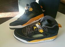 Jordan SPIZIKE , black /yellow WU TANG color way  , 12