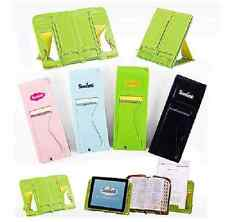 Portable Book Stand Holder Document Notebook iPad Galaxy Tablet PC