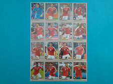 Panini Road to 2018 World Cup Russia Team Switzerland Completo Road to Russia