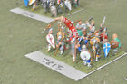 25mm anglo-danish warband 16 figures (7813) painted metal