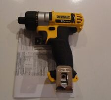 "DEWALT DCF610B 12V 12 Volt Max Lithium Ion 1/4"" Hex Screwdriver Drill Tool Only"