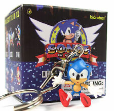 Kidrobot x Sega SONIC THE HEDGEHOG Keychain Series SONIC HIT Vinyl Figure