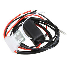 Car DRL LED Daytime Running Relay Harness Controller On / Off Switch Control 12V