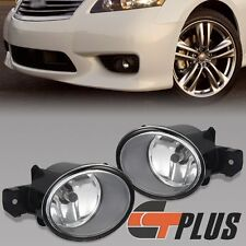 FOR NISSAN ROGUE MAXIMA SENTRA INFINITI G37 M45 FRONT FOG LIGHT DRIVING LAMP SET