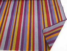 """Multi Stripes (3) """"Paul Smith STYLE Striped 100% Wool Curtain/Upholstery Fabric"""