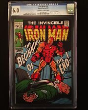 IRON MAN #17 CGC 6.0 1ST APPEARANCE MADAM MASQUE (WHITNEY FROST)! PEGGY CARTER!