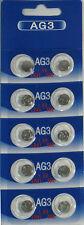 10 Pk AG3 LR41 392 392A SR736 LR736 Alkaline Button Cell Battery