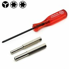 For Nintendo NES N64 Gameboy 3.8mm + 4.5mm Security Bit Triwing Screwdriver