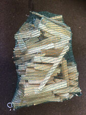 Large 4KG + Net Of kindling Wood For Chimneas Fires  Firepits  Friendly Free P&P