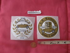2014 L.A. LA Los Angeles Roadsters stickers 50th show swap Hot Rod roadster Ford