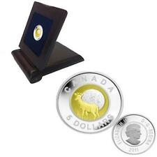2011 Full Book Moon $5 Sterling Silver and Niobium Coin