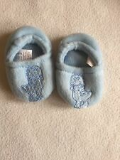 Baby Boys Shoes 3-6 Months - Cute Fleece Slippers