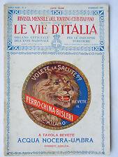 LE VIE D'ITALIA FEBBRAIO 1925 Cagliari Sorrento Feltre Roma S. Secondo Parmense