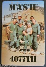 M*A*S*H 4077TH 1981 Vintage Swap Trade Playing Card Single- Old TV Show Crew