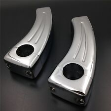 For Harley Softail Heritage Sportster Fat Boy Victory CHROME Handlebar Risers