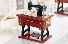 Creative Christmas Gifts Collectibles Music Boxes Classical Sewing Machine L27