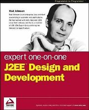 Expert One-on-One J2EE Design and Development, Johnson, Rod, Acceptable Book
